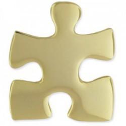 Gouden puzzelstukje